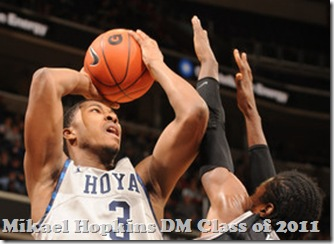 Mikael Hopkins at Georgetown
