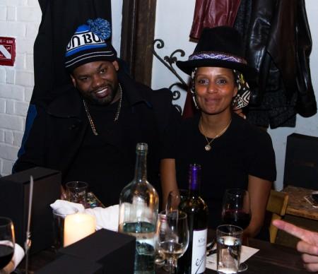 Raekwon, The Chef, of Wu-Tang Clan & Lysa
