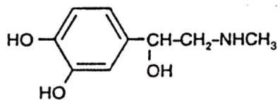 Epinephreine Structure
