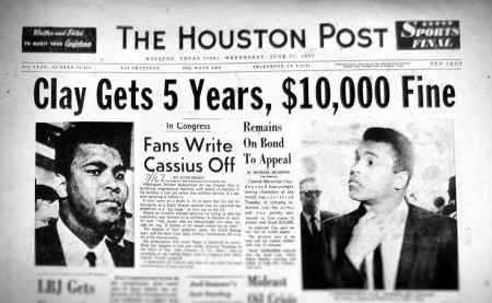 Cassius Clay The Houston Post